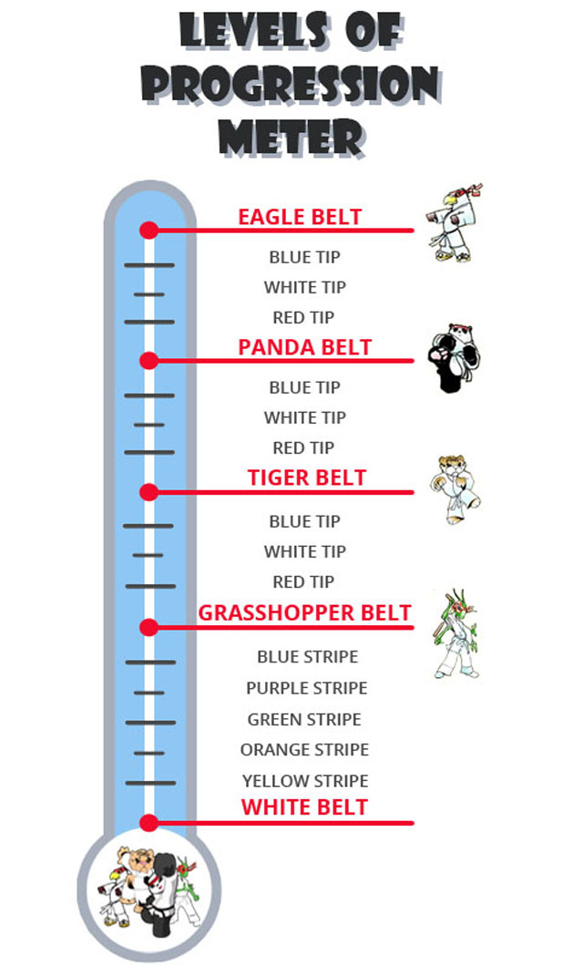 Belt Progression | Jhoon Rhee Tae Kwon Do Institute